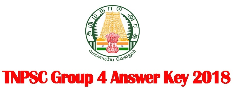 TNPSC Group 4 Answer Key