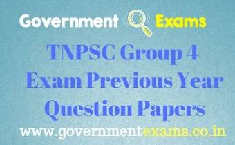 TNPSC Group 4 Question Papers
