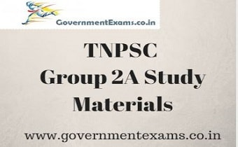 TNPSC Group 2A Study Materials - Free Study material pdf