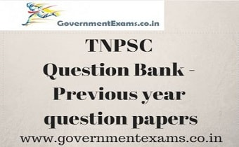 TNPSC Question Paper
