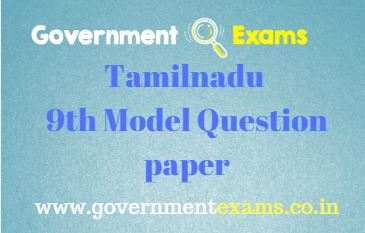 9th question paper