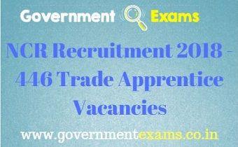 NCR Recruitment 2018 - 446 Trade Apprentice Vacancies
