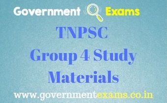 TNPSC Group 4 Study Materials