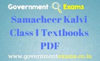 1st Class Textbooks
