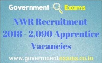 NWR Recruitment 2018 - 2,090 Apprentice Vacancies