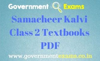 Class 2 Books | English, Tamil, Maths and EVS books PDF Free