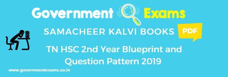 12th Blueprint 2019 Tamilnadu