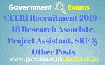 CEERI Recruitment 2019