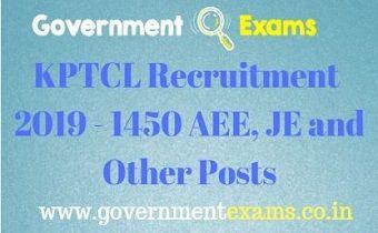 KPTCL Recruitment 2019