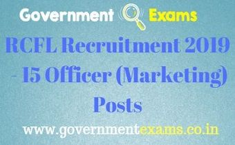 RCFL Recruitment 2019
