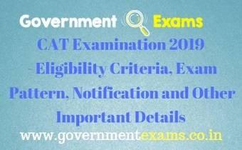 CAT Examination 2019