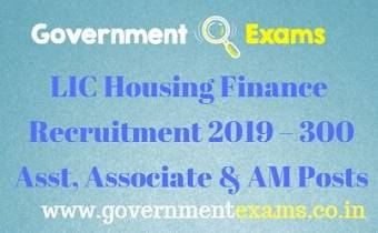 LIC Housing Finance Recruitment 2019