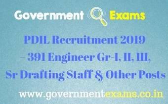 PDIL Recruitment 2019