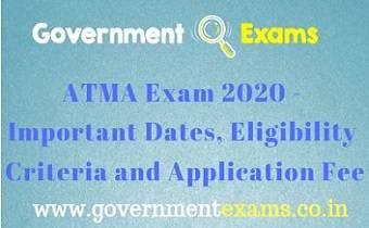 ATMA Exam 2020