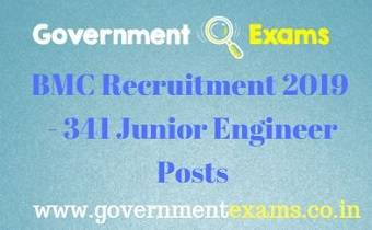 BMC Junior Engineer Recruitment 2019