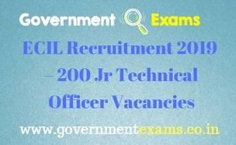 ECIL JTO Recruitment 2019