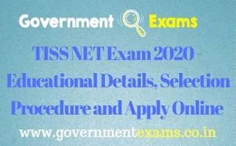 TISS NET Exam 2020