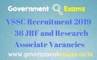 VSSC Recruitment 2019