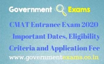 CMAT Entrance Exam 2020