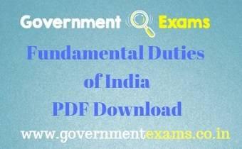 Fundamental Duties of India
