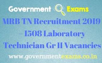 MRB TN Recruitment 2019