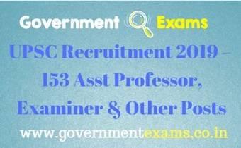 UPSC ORA Recruitment 2019