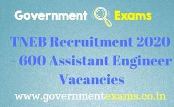 TNEB AE Recruitment 2020