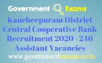 Kancheepuram District Recruitment Bureau Recruitment 2020