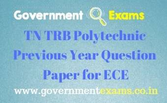 TRB Polytechnic Previous Year Question Paper for ECE