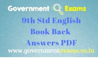 9th English Book Back Answers