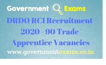DRDO RCI Recruitment 2020