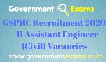 GSPHC Assistant Engineer Recruitment 2020