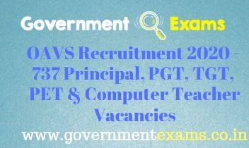 OAVS Principal and Teachers Recruitment 2020