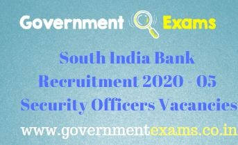 SIB Security Officers Recruitment 2020