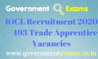 IOCL Trade Apprentice Recruitment 2020