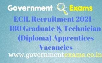 ECIL Graduate Diploma Apprentices Recruitment 2021