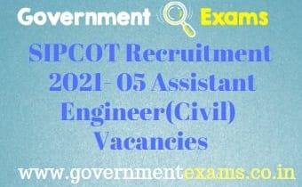 TN SIPCOT Recruitment 2021