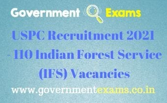 UPSC IFS Recruitment 2021