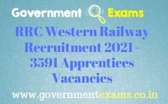 RRC WR Apprentice Recruitment 2021