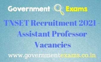 TNSET Annamalai University Assistant Professor Recruitment 2021