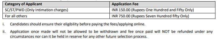 IPPB Various Manager Recruitment Application Fee 2021